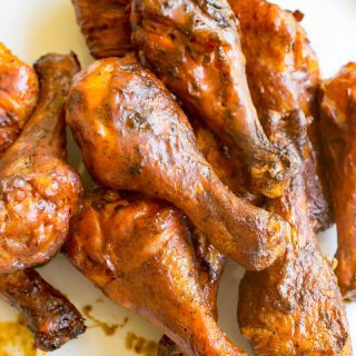 Traeger Grilled Buffalo Chicken Legs