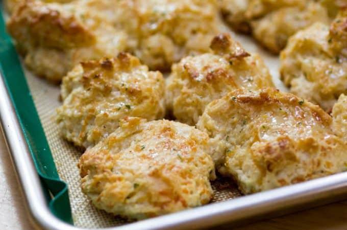 Traeger Grilled Cheddar Bay Biscuits
