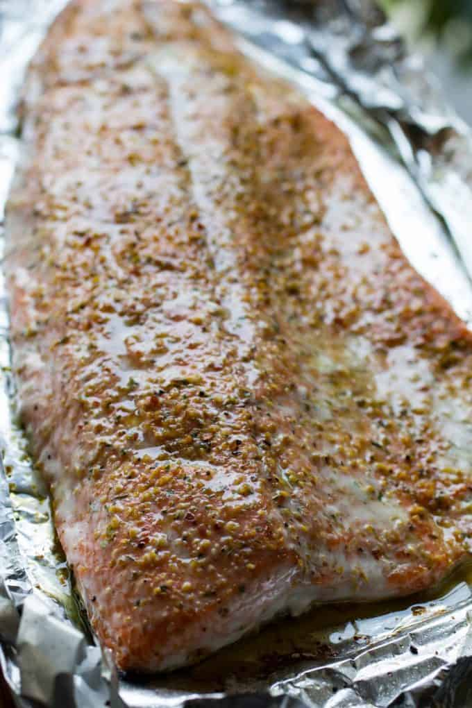 Traeger Grilled Salmon