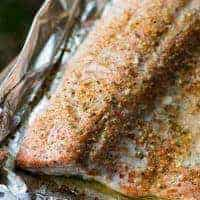 Lemon Pepper Traeger Grilled Salmon