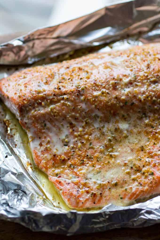 Lemon Pepper Traeger Grilled Salmon