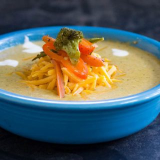 Traeger Grilled Vegetable Bisque | Veggie Tray Soup