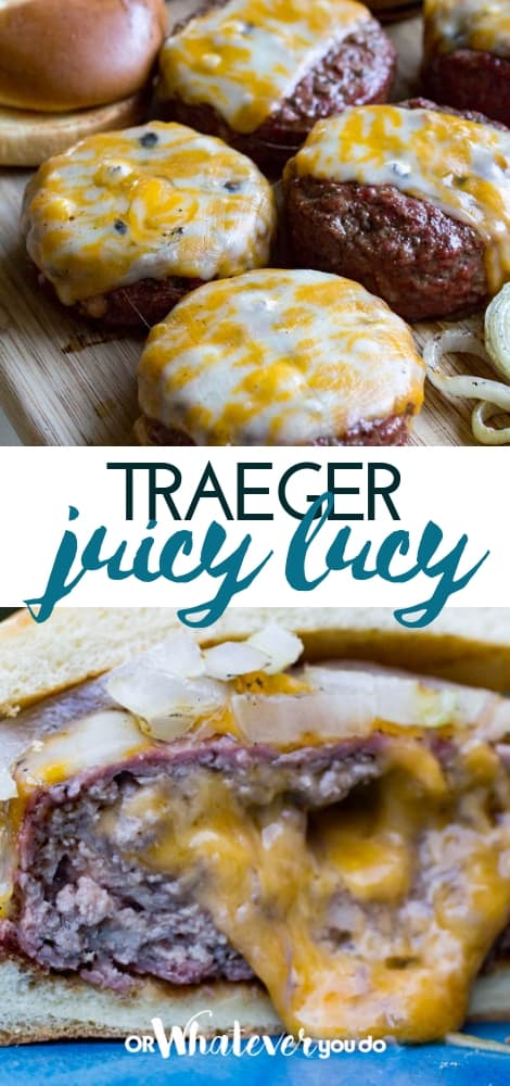Traeger Juicy Lucy