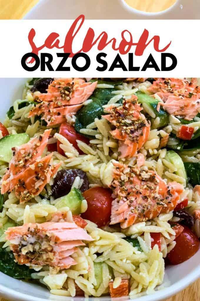 Salmon Orzo Salad