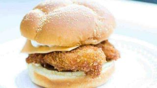Crispy Panko-Breaded Fish Sandwich