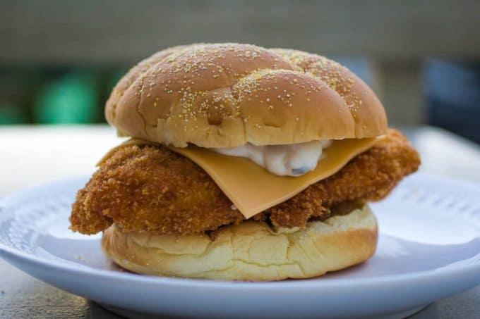 Crispy Panko Breaded Fish Sandwich-6