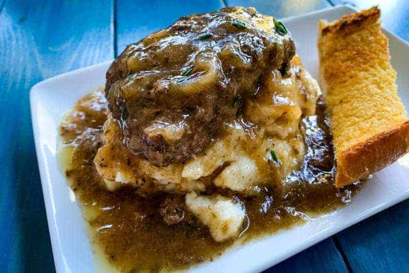 French Onion Burgers and Gravy