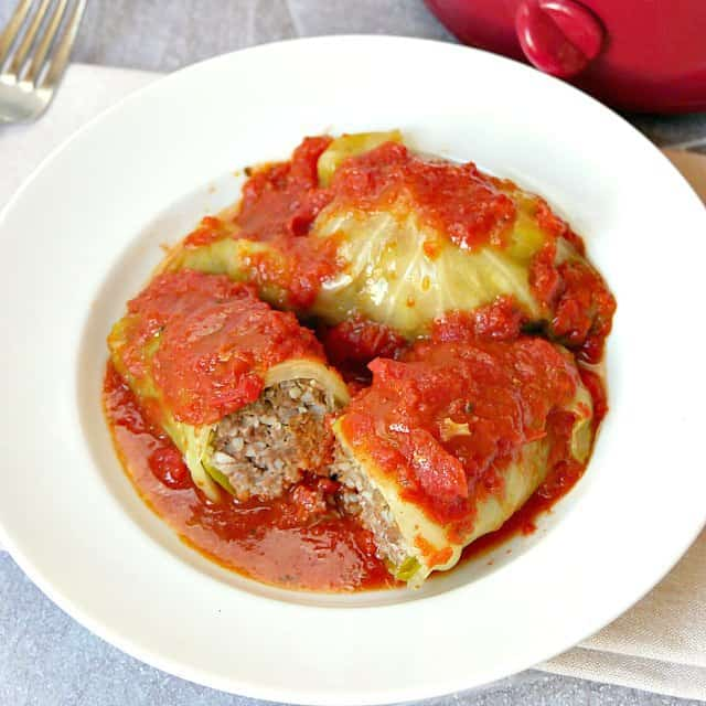 Growing Up Gabel Stuffed Cabbage Rolls