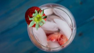 Strawberry White Cranberry Spritzer