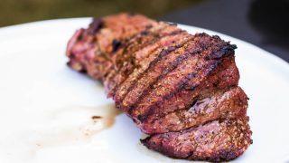 Traeger Smoked Beef Tenderloin