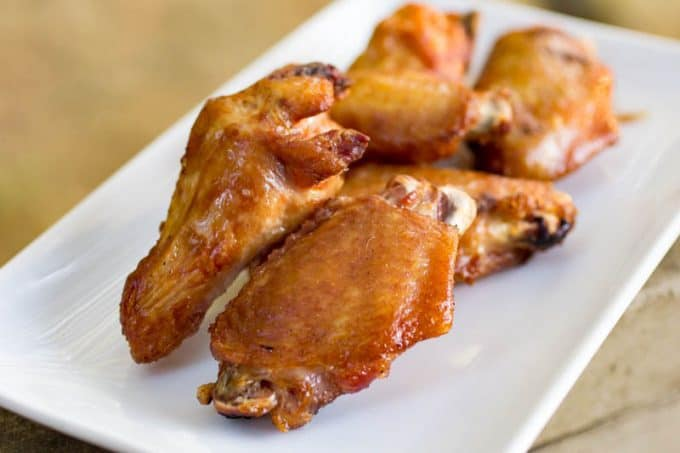 Smoked and Fried Chicken Wings