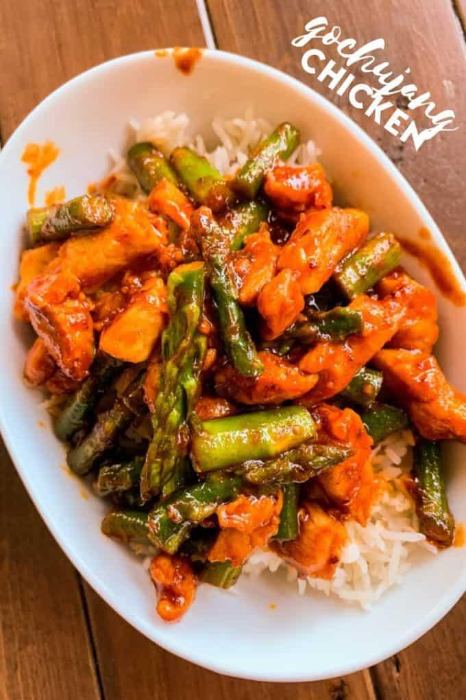 Gochujang Chicken Stir Fry