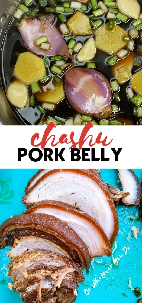 Chashu Pork Belly