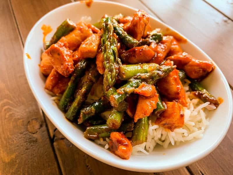 Gochujang Chicken Stir-Fry
