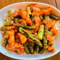 Gochujang Chicken Stir-Fry