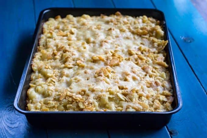 Traeger Smoked Macaroni and Cheese