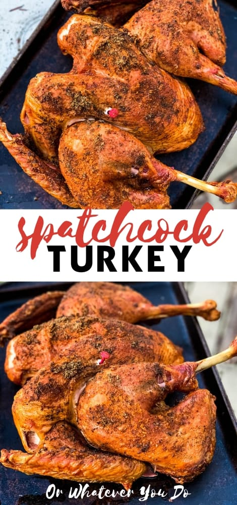 Traeger Spatchcock Turkey
