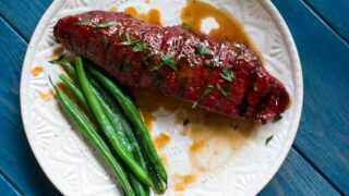 Traeger Grilled Hanger Steak