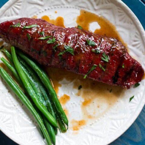 Traeger Grilled Hanger Steak