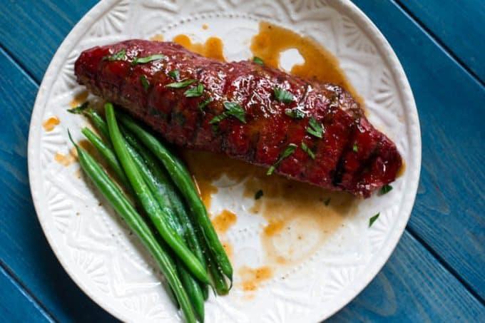 Reverse Seared Hanger Steak