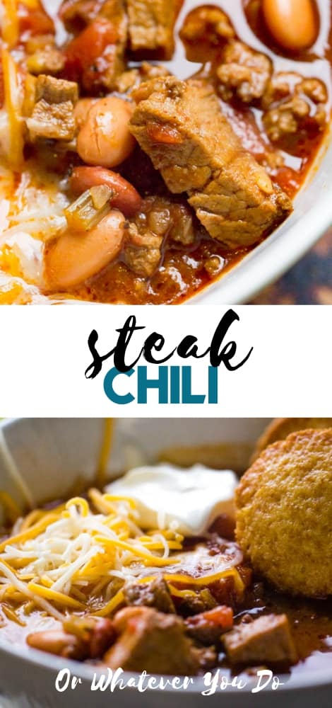 Easy Steak Chili