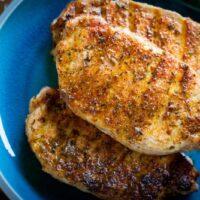 Traeger Blackened Pork Chops