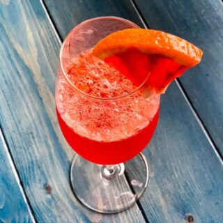 Blood Orange Cider Mimosa