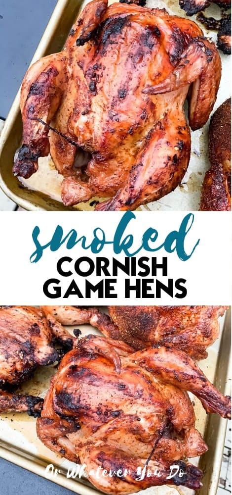 smoked cornish hens