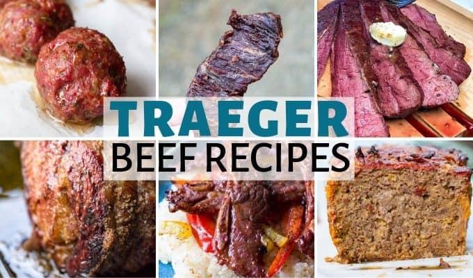 Easy Traeger Beef Recipes Wood Pellet Grill Beef Recipe