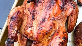Traeger Smoked Cornish Hens