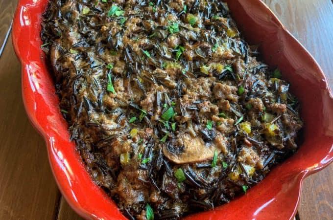 Wild Rice Hotdish