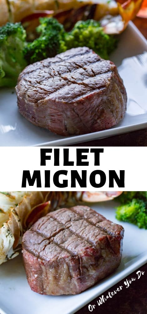 Traeger Grilled Filet Mignon
