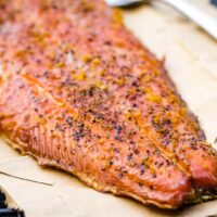 Lemon Pepper Smoked Salmon