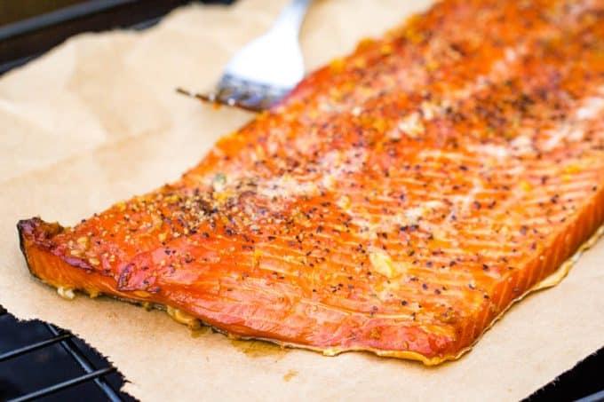 Lemon Pepper Smoked Salmon