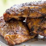 Traeger Grilled Chicken Quarters
