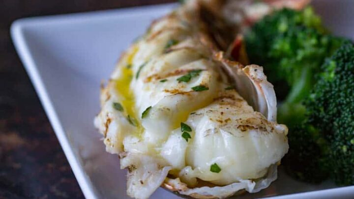 Traeger Grilled Lobster Tail