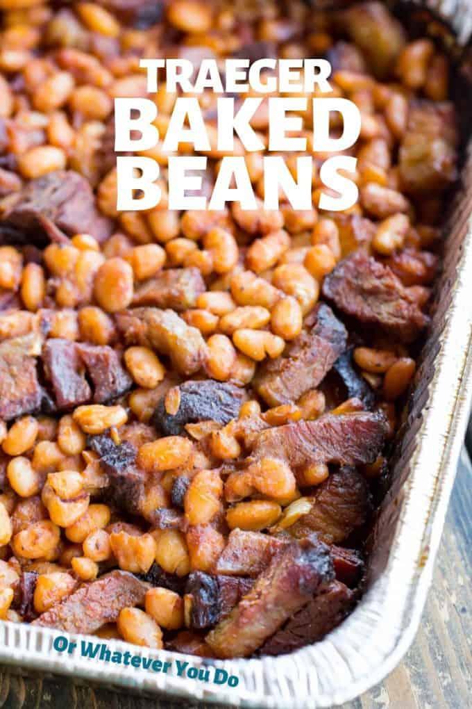 Traeger Baked Beans