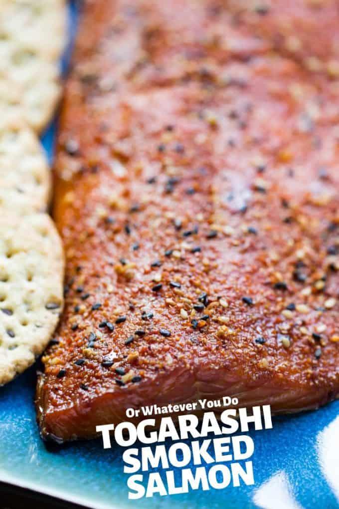 Traeger Togarashi Smoked Salmon