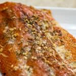 Garlic Dill Smoked Salmon