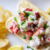 Traeger Lobster Rolls