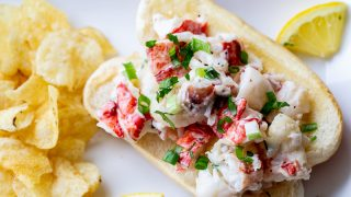 Traeger Lobster Rolls