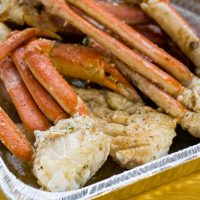 Traeger Grilled Crab Legs