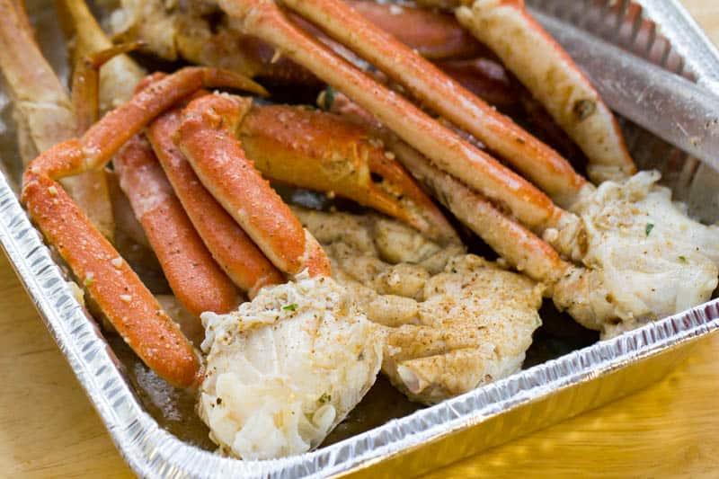 Traeger Grilled Crab Legs Easy Wood Fired Crab Leg Recipe