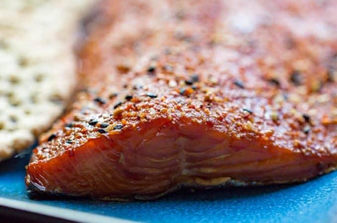 Togarashi Smoked Salmon