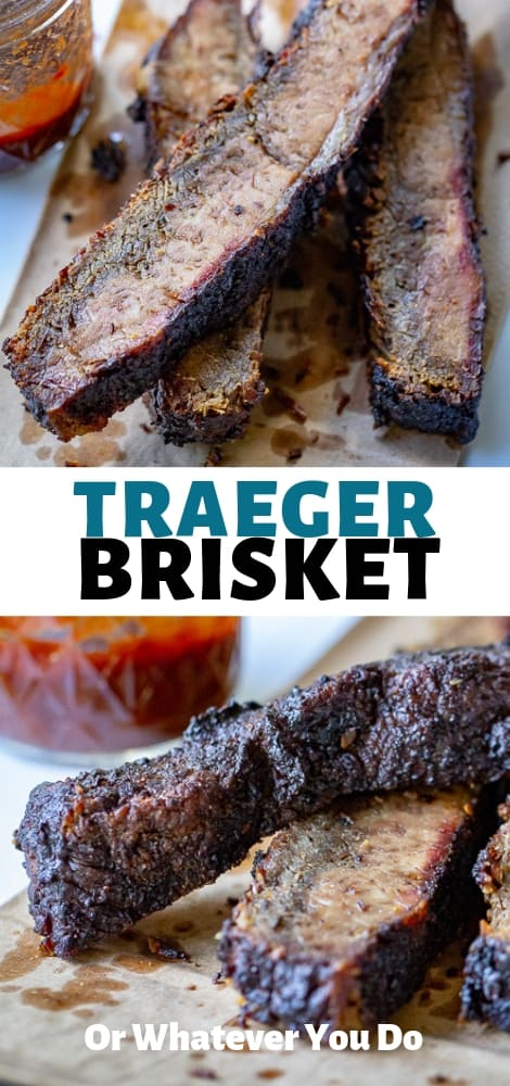 Traeger Smoked Brisket
