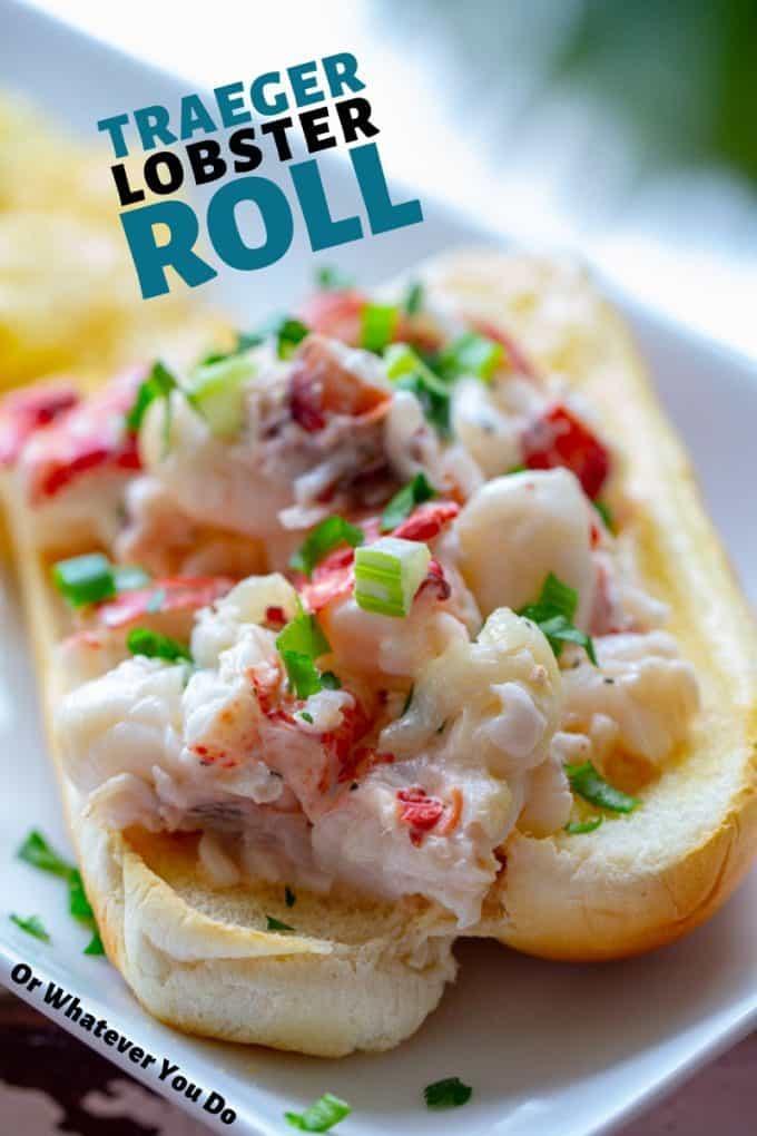 Traeger Lobster Roll