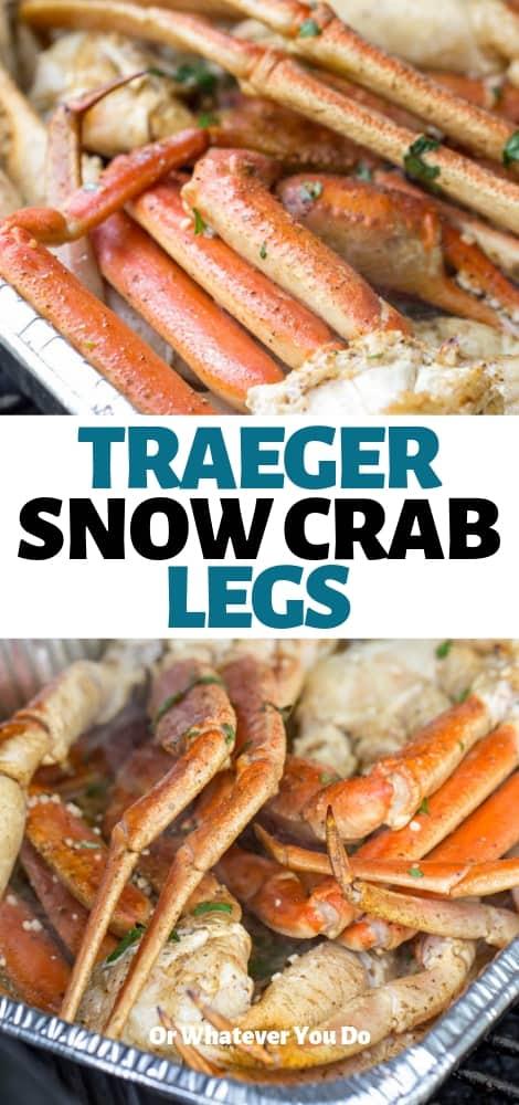 Traeger Grilled Crab Legs | Easy wood-fired crab leg recipe