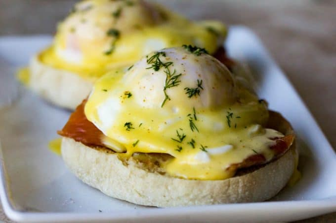 Smoked Salmon Eggs Benedict
