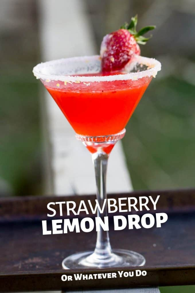 Strawberry Lemon Drop