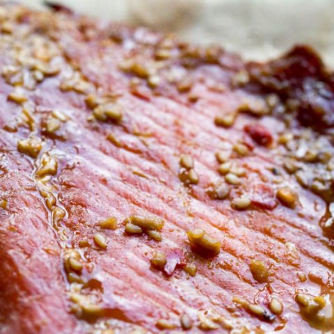 Teriyaki Smoked Salmon